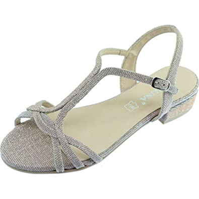 Pieds Femme A Angelina® Petit Gadeni Talon Chaussures Sandales Nu WHIYE9D2
