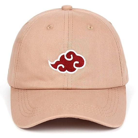 100% Cotton Japanese Akatsuki Logo Anime Naruto Dad Hat Uchiha Family Logo Embroidery Baseball Caps Black Snapback Hats Khaki at Amazon Mens Clothing store ...