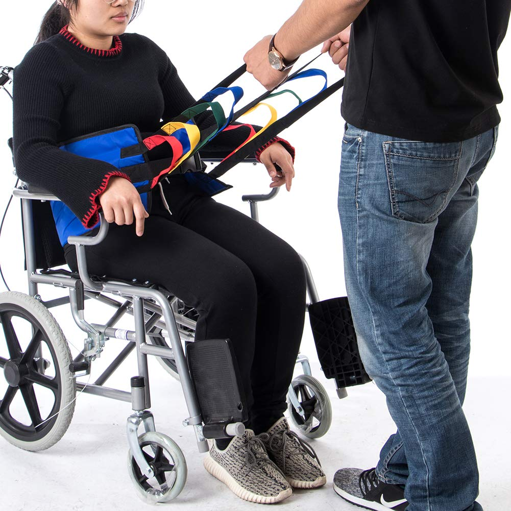 Fushida Patient Lifting Sling, Heavy Duty Transfer Sling for Movement, Padded Patient Transfer Assist Belt for 300lb Weight, Quicker Easier Safer Transfers & Toileting, Lift Sling for Elderly FYH290 by Fushida