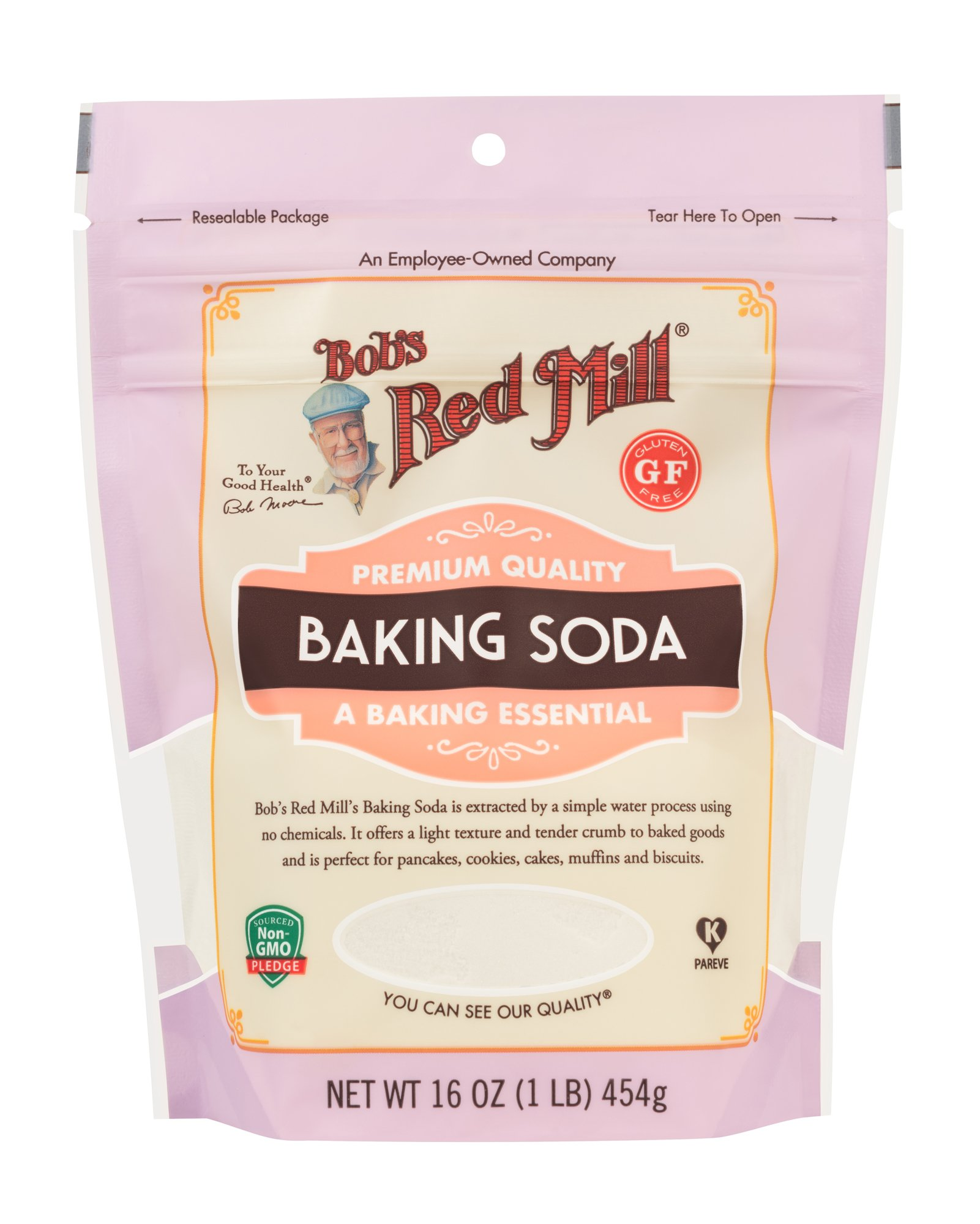 Bob's Red Mill Resealable Baking Soda, 16 Oz (6 Pack) by Bob's Red Mill (Image #3)