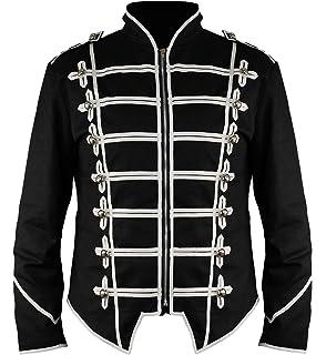 Ro Rox Steampunk Military Drummer Emo MCR Punk Gothic Parade Jacket