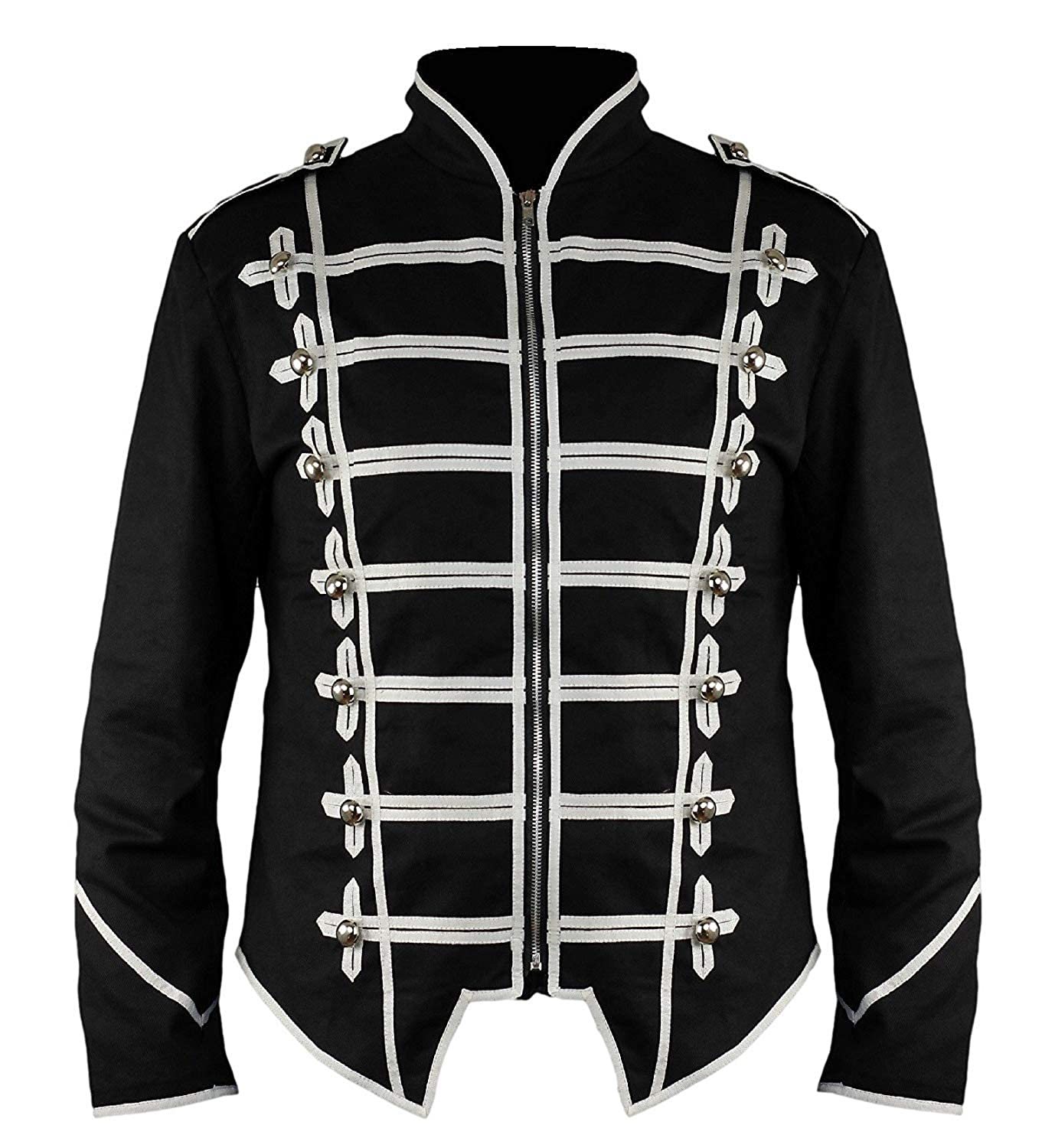 Ro Rox New Steampunk Military Drummer Emo MCR Punk Gothic Parade Jacket