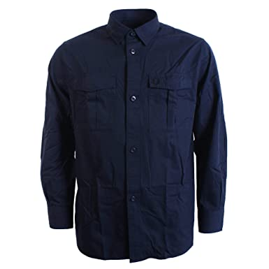 f89c24f1 Fred Perry Shirt Utility Mens Navy Overshirt: Amazon.co.uk: Clothing