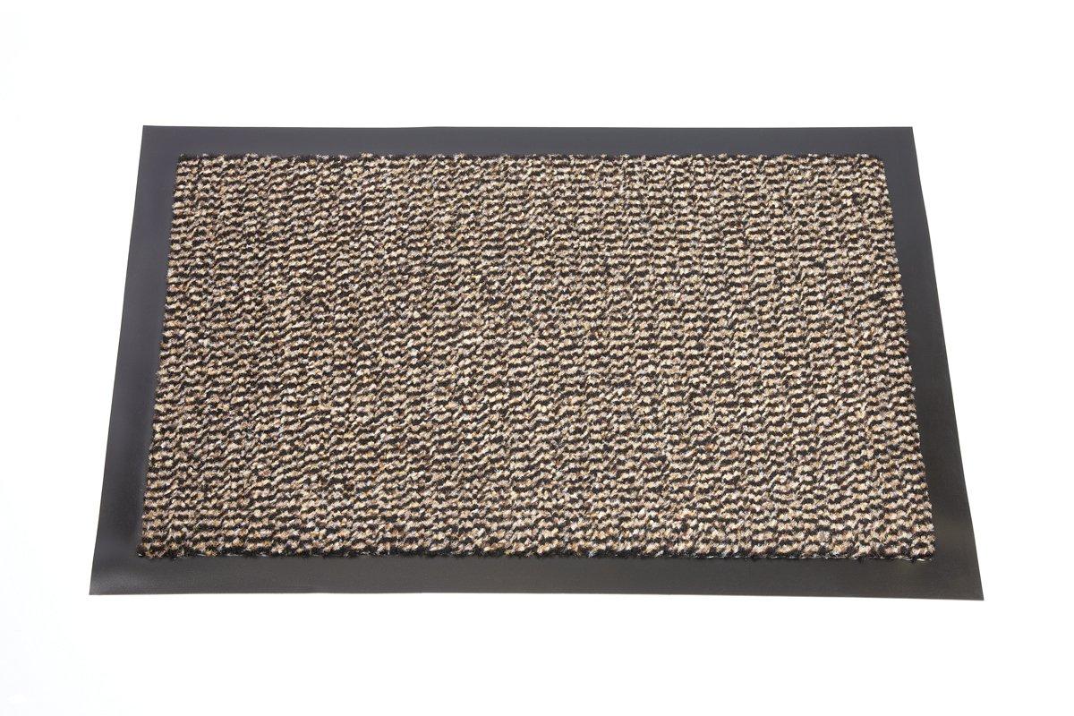 EHC Heavy Duty Barrier Mat, Non-Slip Backing, Indoor/Outdoor, 60 x 90cm - Blue Elitehousewares E7-DBM6090BL