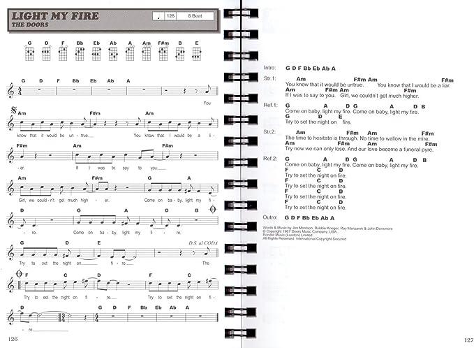 Hit Session Ukelele – Song Books – 100 canciones para ukelele ...