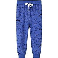 Pantalones Deportivos para Niño Algodon Cordón Ajustable Cinturón Pantalones Largos Deporte Termicos Bolsillo Elasticos…