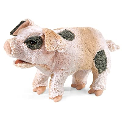 Folkmanis Grunting Marionnette en forme de cochon