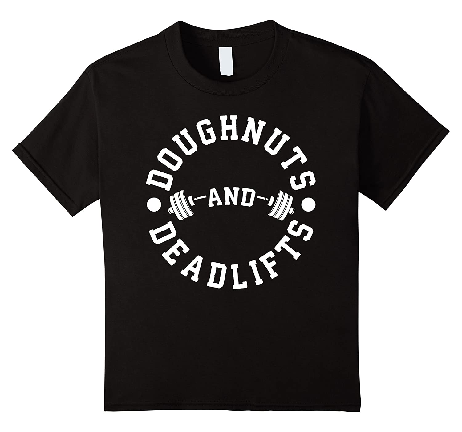 Mens Doughnuts Deadlifts Novelty Workout-Awarplus