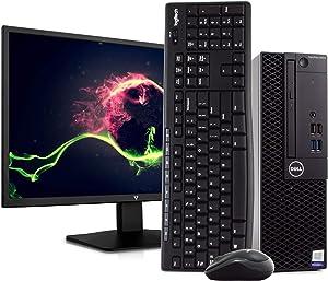 Dell OptiPlex 3050 PC Desktop Computer, Intel i5-6500 3.2GHz, 8GB RAM, 1TB HDD, Windows 10 Pro, 23.6