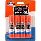 Elmers/X-Acto Washable School Glue Sticks, Multi-Colour, 1.9 x 11.43 x 15.24 cm