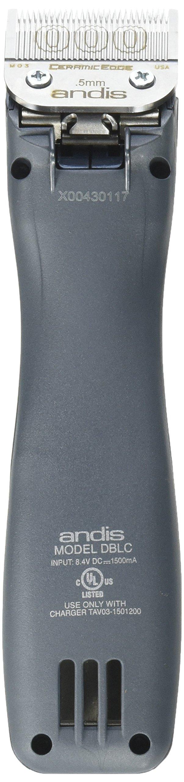 Andis Supra ZR Cordless Ion Clipper DBLC 79000