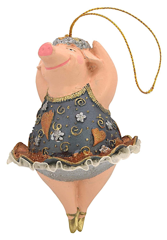Ecosoul Schwein Schweinchen Ballerina Figur Deko H A Nger