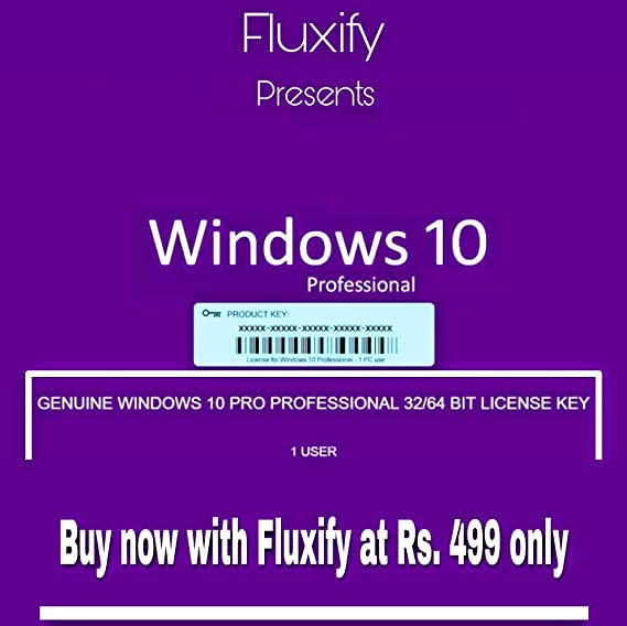 WINDOWS 10 64 bit PROFESSIONAL / 32 bit pro LICENSE KEY ORIGINAL