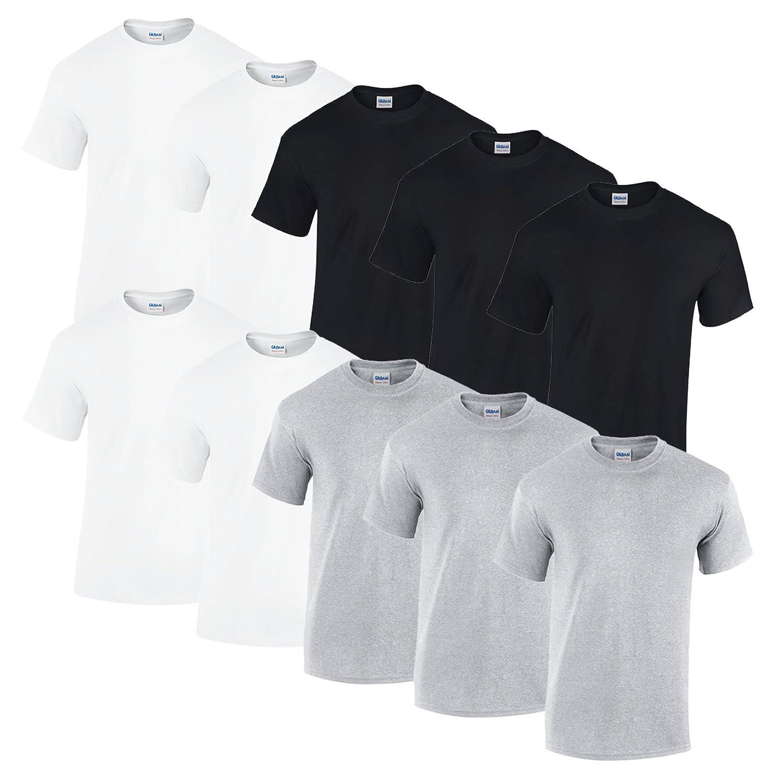 Gildan 10 T Shirts Heavy Cotton M L XL XXL XXL XXL Diverse Farben auswählbar B07DFN6LVQ T-Shirts Ausgewählte Materialien a2e49a