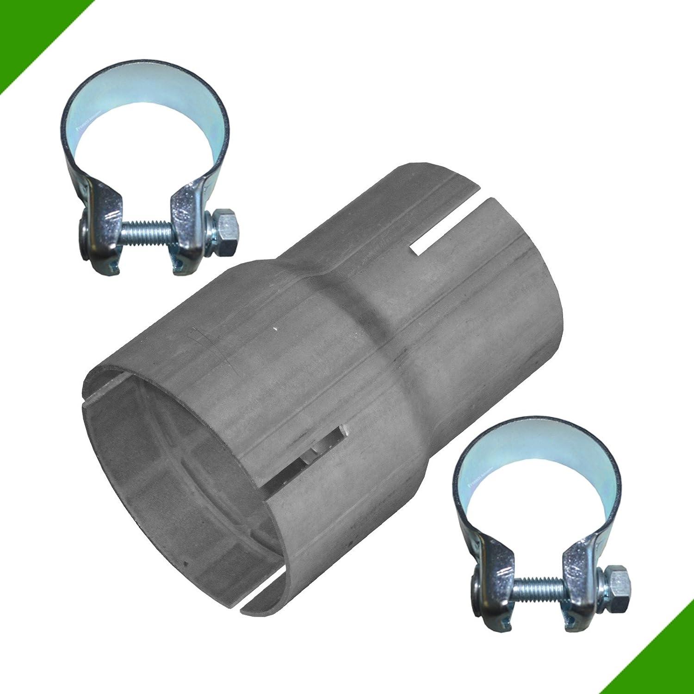 Raccord r/éducteur de tuyau Colliers de r/éduction En acier R/éducteur de tuyau d/échappement de 65 mm /à 76 mm