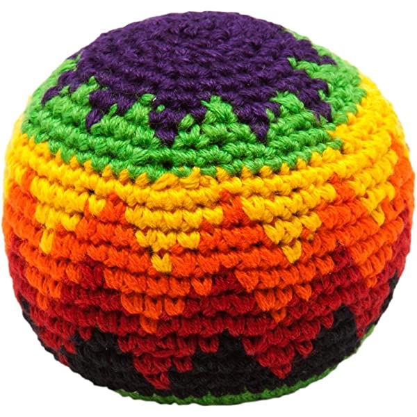 Juggling balls x 3 fair trade, assorted colours by Purity: Amazon ...