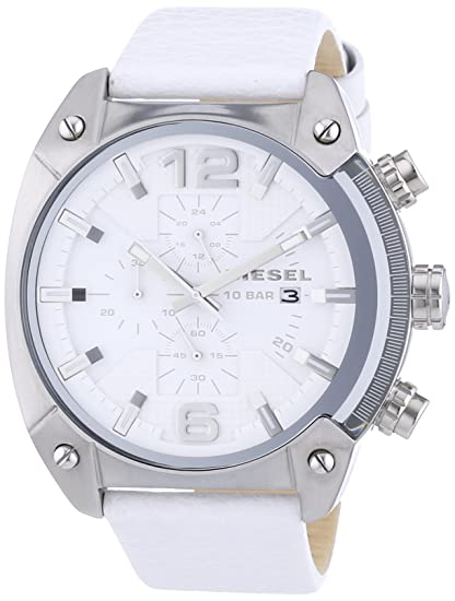 2455edf3de36 Diesel Reloj Diesel DZ4315 Reloj para Hombre Blanco Talla unitalla ...