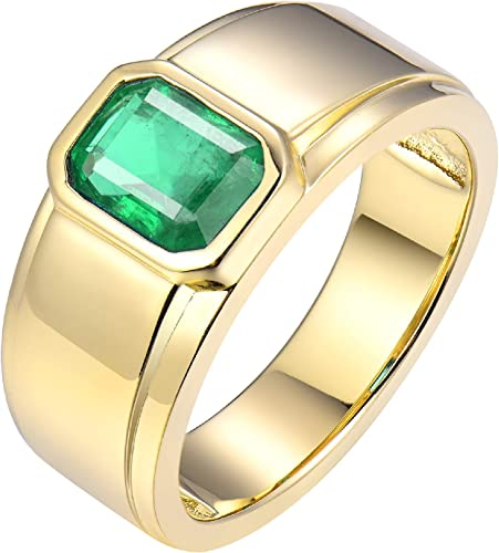 -Size 6.25 10k Yellow Gold Labradorite Ring