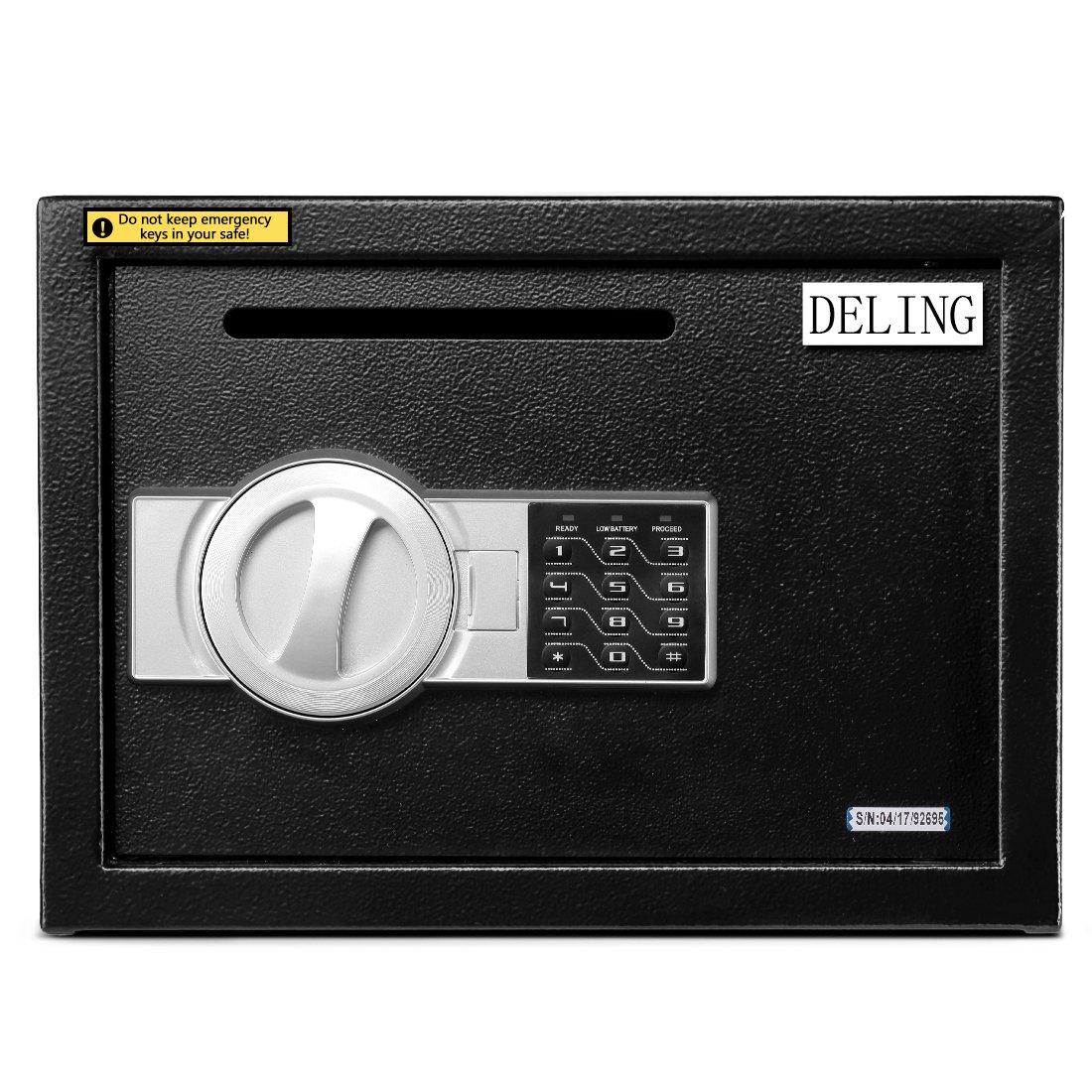 Wonlink Security safe 0.7cubic feet srorage safe digital closet home security box keypad lock (0.7cubic feet Password Lock)