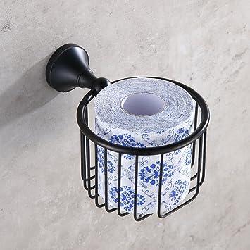 Weare Home Rund Badezimmer Zubehor Accessoires Retro Schwarz Einfach