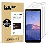 iVoler [3 Pack] Pellicola Vetro Temperato per Xiaomi Redmi 6A / Xiaomi Redmi 6 [Garanzia a Vita], Pellicola Protettiva, Protezione per Schermo