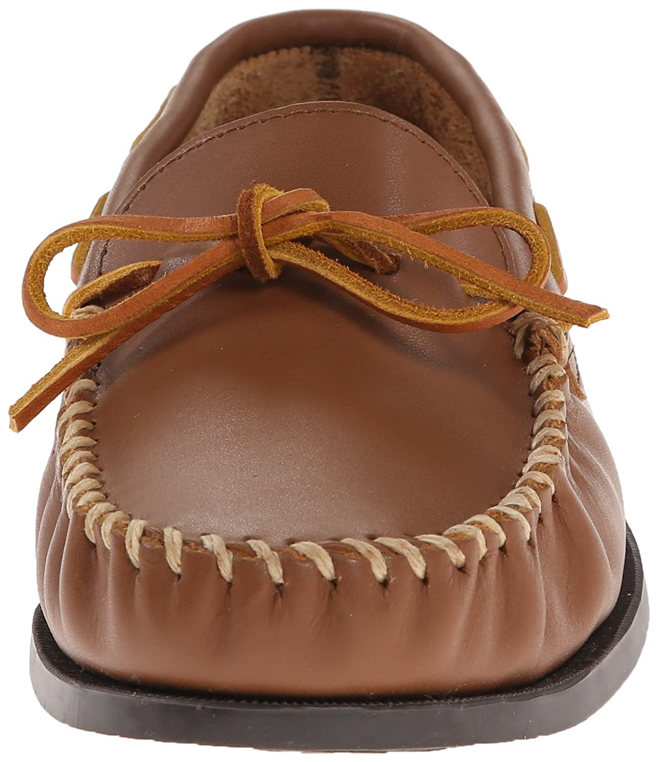 Minnetonka 742X Camp Moc, Mocasines para Hombre, Marrón (Maple), 47 EU: Amazon.es: Zapatos y complementos