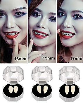 U-Goforst Halloween Vampire Teeth Fangs Dentures Horror