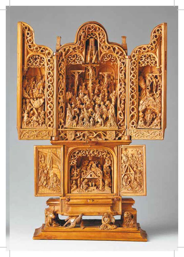 Incredibly rare th century boxwood carvings are so miniature x
