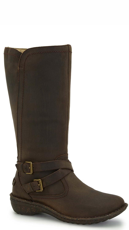 b14e97eb11b UGG Women's Rosen Black Leather Boot