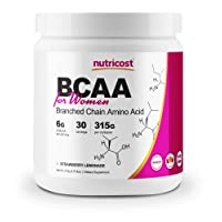 Nutricost BCAA for Women (Strawberry Lemonade, 30 Servings) - Formulated Specifically...