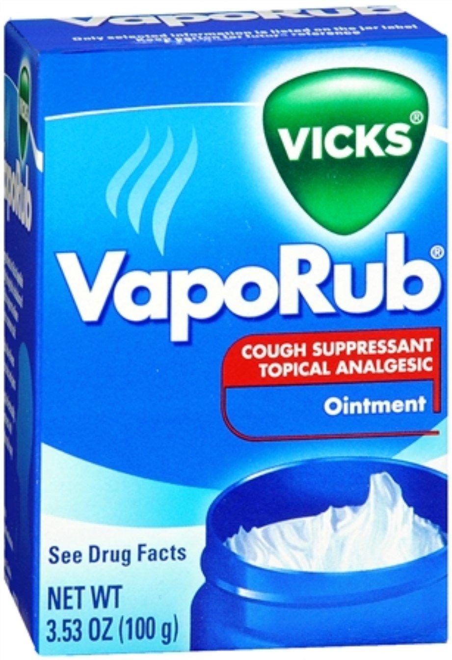 Vicks VapoRub Ointment 3.53 oz (Pack of 3)