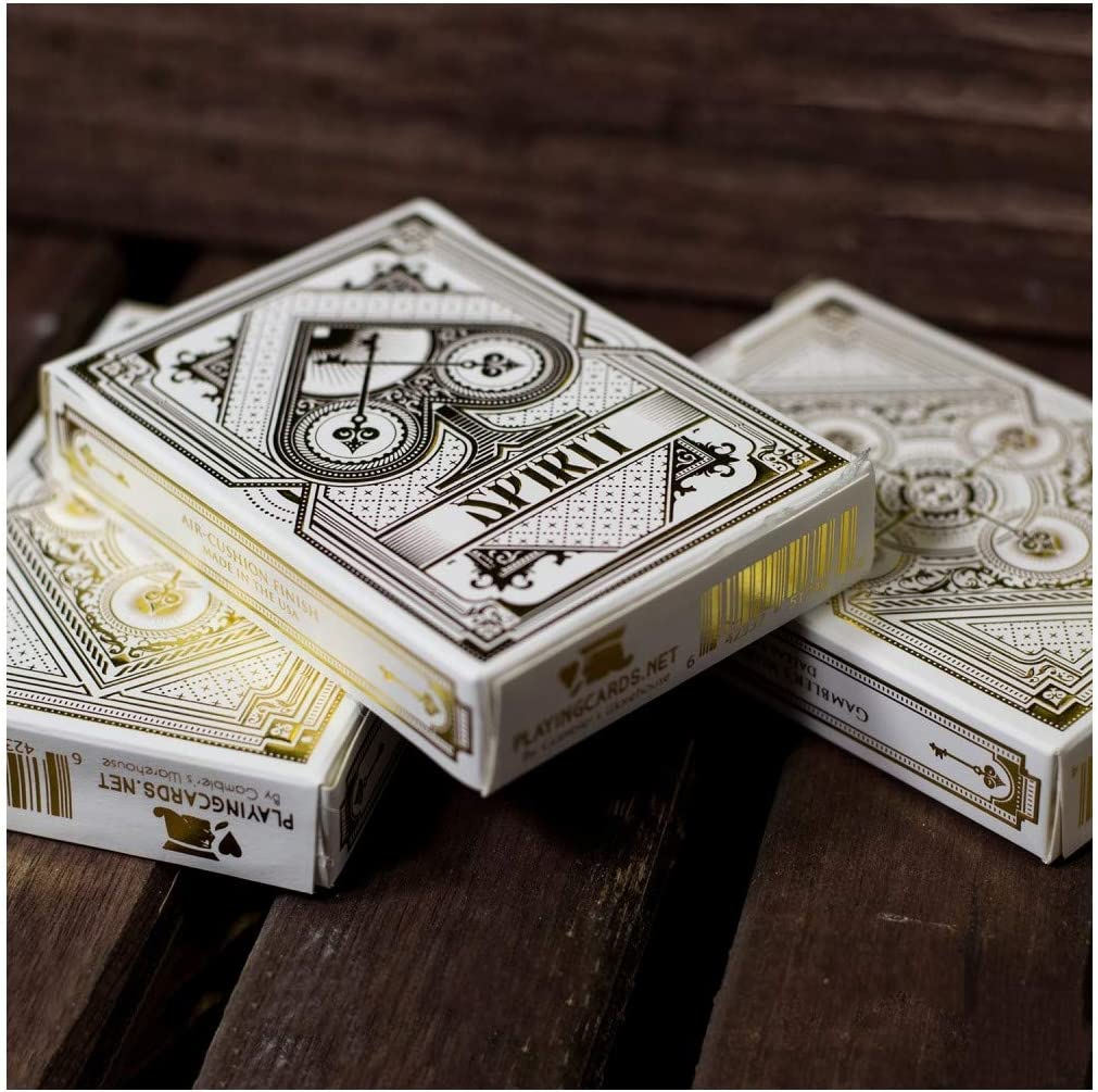 US Playing Card Co. - Baraja bicycle spirit blanco: Amazon.es: Juguetes y juegos