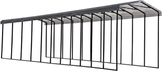 product image for Arrow Shed 14' x 51' x 14' 29-Gauge Metal RV Carport and Multi-Use Shelter for Large Vehicles, 14' x 51' x 14', Charcoal