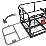2 Inches Hitch Fold-Up Cargo Basket