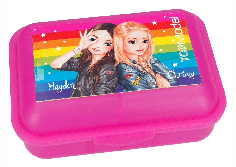 Fiambrera Rosa TopModel Hayden y Christy: Amazon.es ...