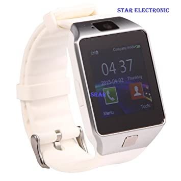 STAR ELECTRONIC® STAR-S4 blanche montre connectée smart watch smartwatch GSM bluetooth Appareil photo