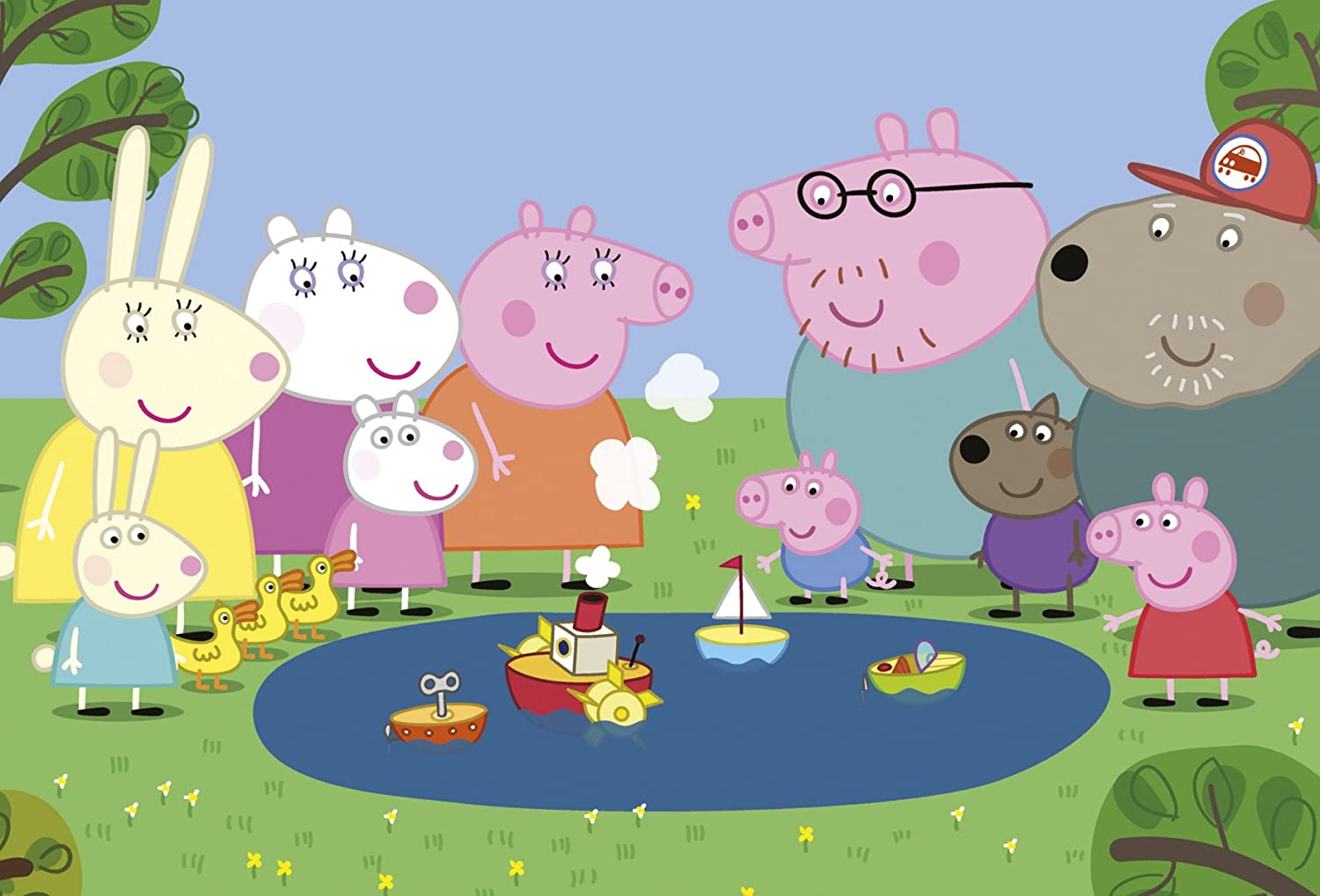 Peppa Pig Trio - 3 Jigsaw Puzzles in a Box (6, 9 and 12 Pieces):  Amazon.co.uk: Toys & Games