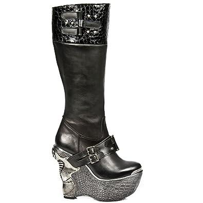Elegant Gothic pz007 New M Stiefel Boots C1 Damen Rock BhdCxsrtQ