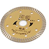 Bronze Tone Tile de roue de coupe diamant scie Lame 110mm x 20mm x 1.8mm