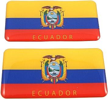 FLAG OF ECUADOR-CAR GRILLE EMBLEM BADGES