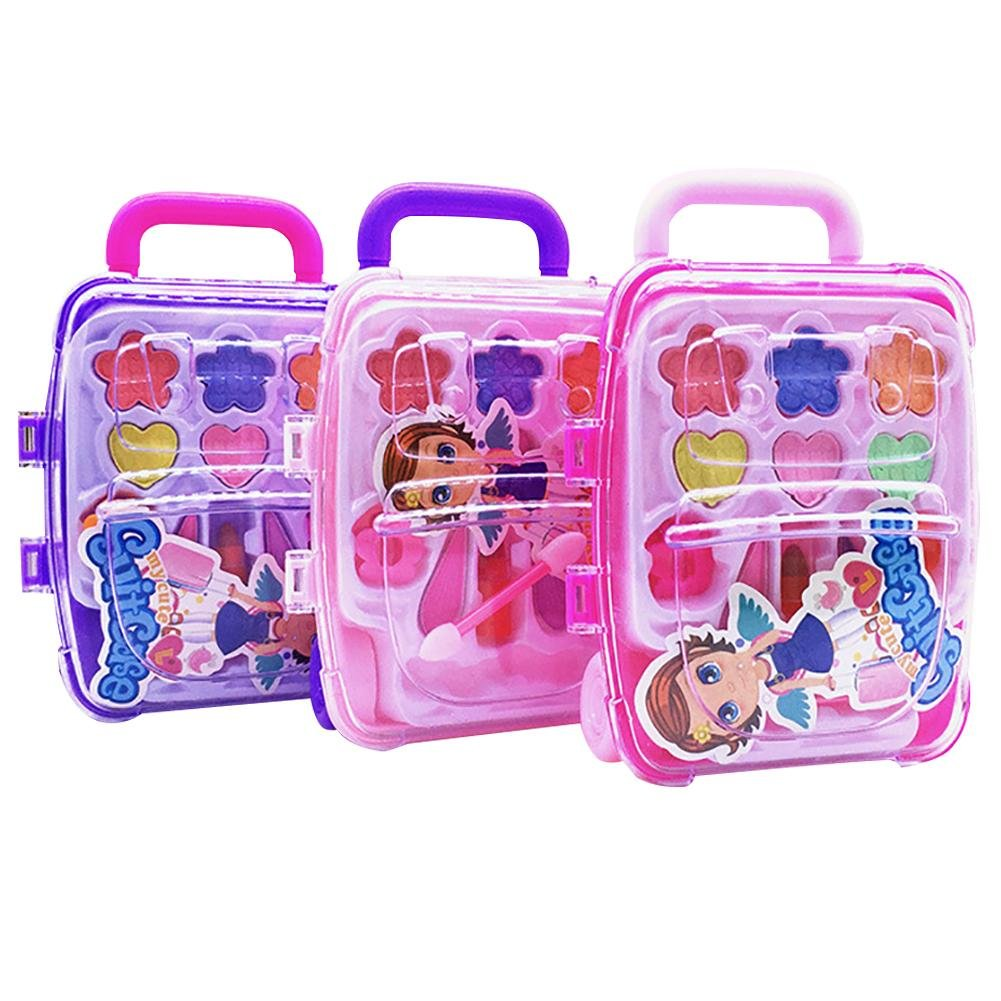 Starter per bambini principessa cosmetici makeup box, girl Toy Birthday