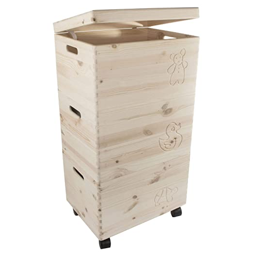 Search Box Cajas de Almacenamiento de Juguetes de Madera sin ...