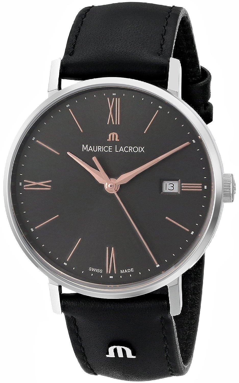 [モーリス ラクロア]Maurice Lacroix 腕時計 Eliros Analog Display Analog Quartz Black Watch EL1084-SS001-811 レディース [並行輸入品] B015NKAQX2