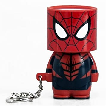 Llavero Clip-On Look-Alite LED Marvel Spider-Man: Amazon.es ...