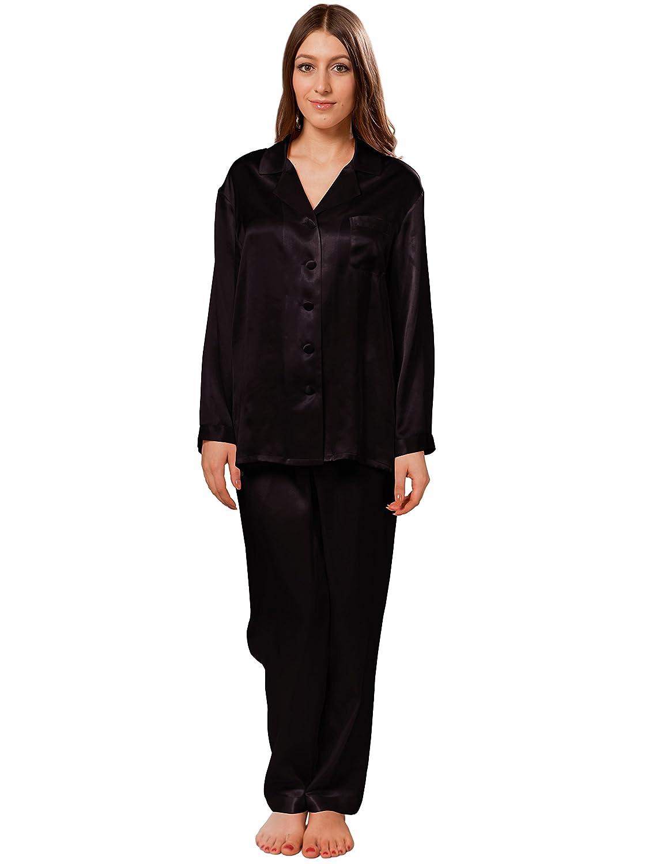 ellesilk SLEEPWEAR XL レディース B0788FHZ3J XL|ブラック ブラック SLEEPWEAR XL|ブラック XL, 干支お雛様のせともの市場:6162e8c1 --- jphupkens.be