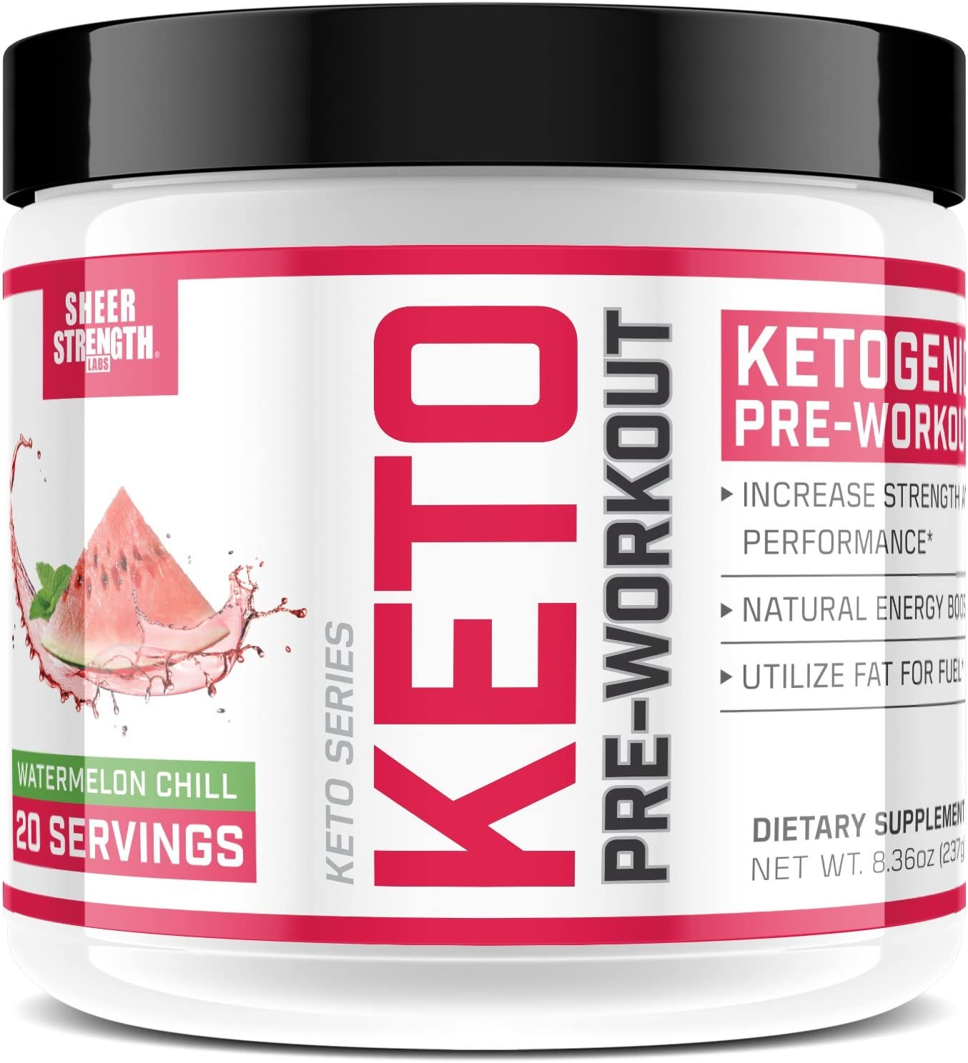 Ketogenic Pre Workout Supplement - Promotes Healthy Weight Loss, Fat Burning