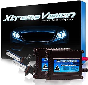 8K Medium Blue 9012 8000K 2 Year Warranty XtremeVision 35W AC Xenon HID Lights with Premium Slim AC Ballast