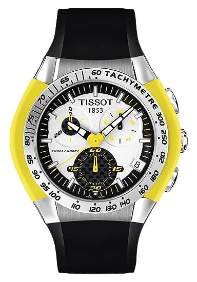 Tissot T-Tracx Collection T0104171703103 - Reloj de caballero de cuarzo, correa de goma