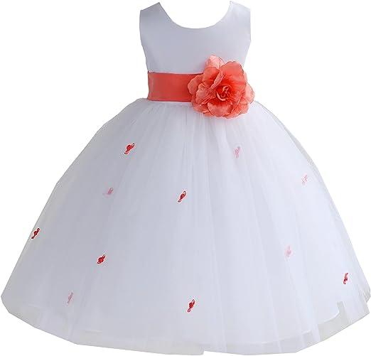 Amazon.com: Elegante Stunning boda nupcial tul Rosebud Flor ...