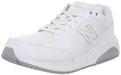 New Balance Men's MW928 Walking Shoe,White,7.5 2E US